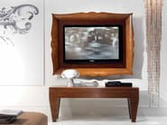 Wall-mounted maple TV cabinet POIS   Wall-mounted TV cabinet - Carpanelli Classic