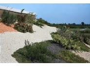 copertura a verde estensivo mediterraneo in pendenza - edificio ad uso uffici -  Faenza (RA)