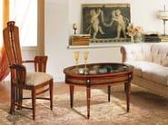 Oval coffee table BACHECA - Carpanelli Classic