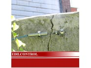 Measurement, control, thermographic and infrared instruments Structural Health Monitoring - Edilcontrol