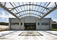 Insulated metal panel for facade SERBOND® - ELCOM SYSTEM
