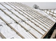 Over rafter insulation