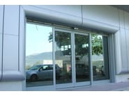Continuous facade system Special components - ELCOM SYSTEM
