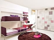 Wardrobe with sliding doors ARMADIO - CLEI