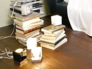 Glass table lamp CUBETTO | Table lamp - Fabbian