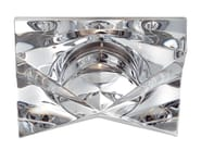 Recessed crystal spotlight for false ceiling CINDY - Fabbian