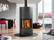 Wood-burning Central stove OXFORD - Piazzetta