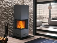 Wood-burning Central stove DOVER - Piazzetta