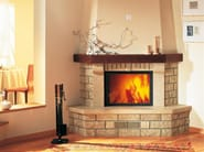 Travertine Fireplace Mantel ARGO - Piazzetta