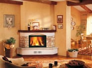 Stone Fireplace Mantel BARGA - Piazzetta