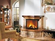 Travertine Fireplace Mantel BASSANO - Piazzetta
