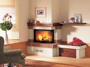 Stone Fireplace Mantel LUCCA - Piazzetta