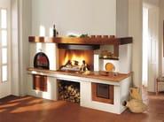 Travertine Fireplace Mantel MAREMMA - Piazzetta