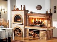Travertine Fireplace Mantel SESTRIERE - Piazzetta
