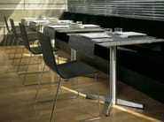 Sled base stackable chair LINEAL | Sled base chair - Andreu World