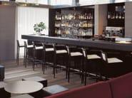 Upholstered stool MANILA | Upholstered stool - Andreu World