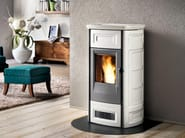 Pellet stove for air heating P958 | Pellet stove - Piazzetta