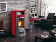 Pellet stove for air heating P960 | Pellet stove - Piazzetta