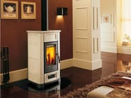 Stove for air heating E918 | Wood-burning stove - Piazzetta