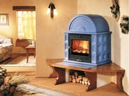 Wood-burning stove with Oven KAM - Piazzetta