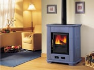 Wood-burning stove for air heating E 903 K | Wood-burning stove - Piazzetta