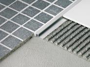 Profiles for thin tiles floors MOSAICTEC SJM - PROFILITEC