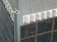 Round aluminium profile for mosaic MOSAICTEC RJM - PROFILITEC