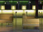 3 seater leather sofa ORIZZONTE | Sofa - ROSSIN