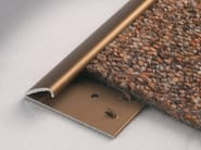 Terminal edge self adjusting carpet profiles CARPETEC MD - PROFILITEC