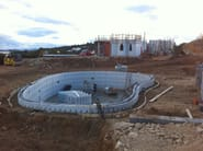 In situ concrete loadbearing masonry system CLIMABLOCK® PER PISCINE - PONTAROLO ENGINEERING