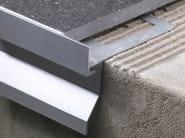 Water drip profile with drain holes BORDERTEC BBO-BCO - PROFILITEC