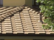 Clay bent roof tile / roof tile Coppi e tegole piane - SOLAVA
