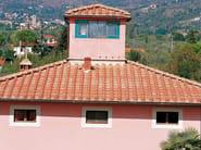 Clay bent roof tile / roof tile Coppi e tegole piane - SOLAVA