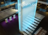 Cement Open staircase CONCRETE STAIRS - Siller Treppen