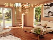 Spiral staircase SKY-SCREW - Siller Treppen