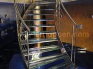 Spiral staircase SUPERIOR - Siller Treppen