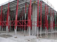 Formwork and formwork system for concrete ALUFORT - Faresin Building