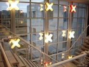 Lampada da parete fatta a mano X-CLUB A - LZF