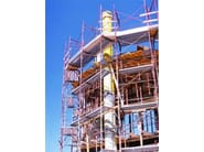Disposable formwork Mold for cylindrical pillars - DIDOR ITALIA
