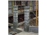 Formwork and formwork system for concrete Formwork for square pillars - DIDOR ITALIA