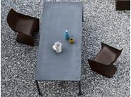 Rectangular cement table BOIACCA | Rectangular table - Kristalia