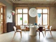 Stackable wooden chair SHRIMP   Chair - COR Sitzmöbel Helmut Lübke