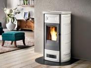 Pellet faïence stove P958 C | Pellet stove - Piazzetta