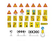 Construction site safety signage / Road sign Road sign - Lazzari