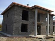 Thermal concrete block Muratura Bioclima per intonaco - EDIL LECA Divisione MURATURE