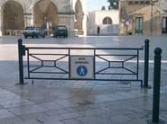Steel pedestrian barrier ROMA - Lazzari