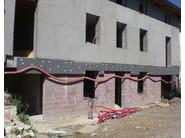 Thermal concrete block Muratura termoisolante a cappotto - EDIL LECA Divisione MURATURE
