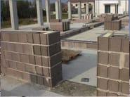 Thermal concrete block LECABLOCCO BIOCLIMA ZERO - EDIL LECA Divisione MURATURE
