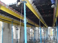 Formwork panel and lightening element for floor slab GEOSKY ® - GEOPLAST