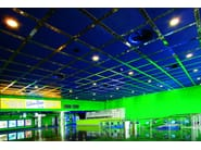 Expanded metal ceiling tiles ATENA   Expanded metal ceiling tiles - ATENA